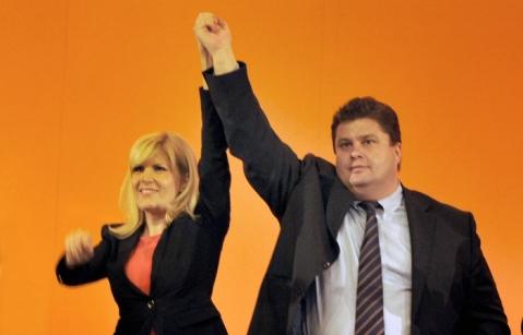 Elena Udrea si Florin Popescu pe vremea libertăţilor depline